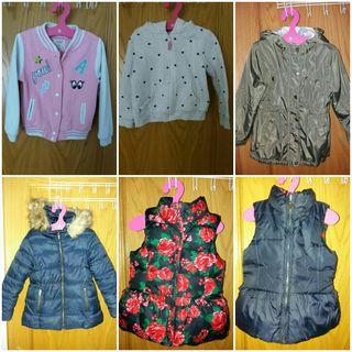 Lote abrigo/chaleco/cazadora/sudadera 20€