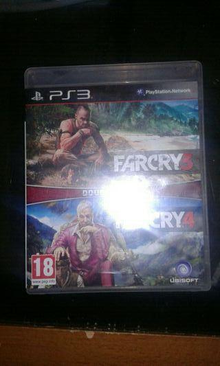 juegos ps3 farcy cry 3 y farcy cry 4.... 16€