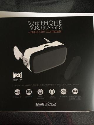 Gafas de VR y mando bluetooth