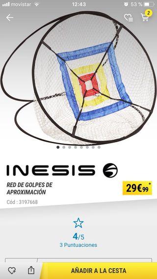 Red entrenamiento golf