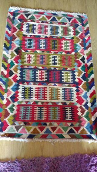 alfombra Kilim.