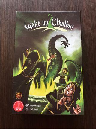 Juego Wake up Cthulhu