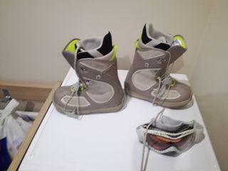 botas de snow