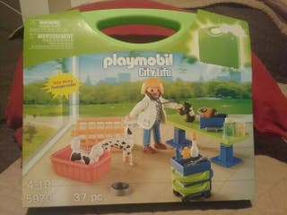 Playmobil Veterinaria Maletin.