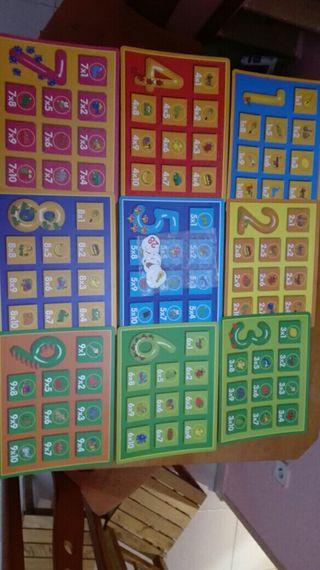 juego tablas de multiplicar