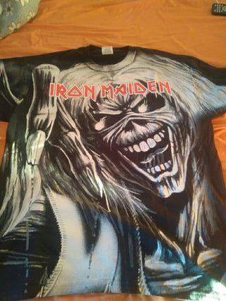 Camiseta iron maiden coleccionista