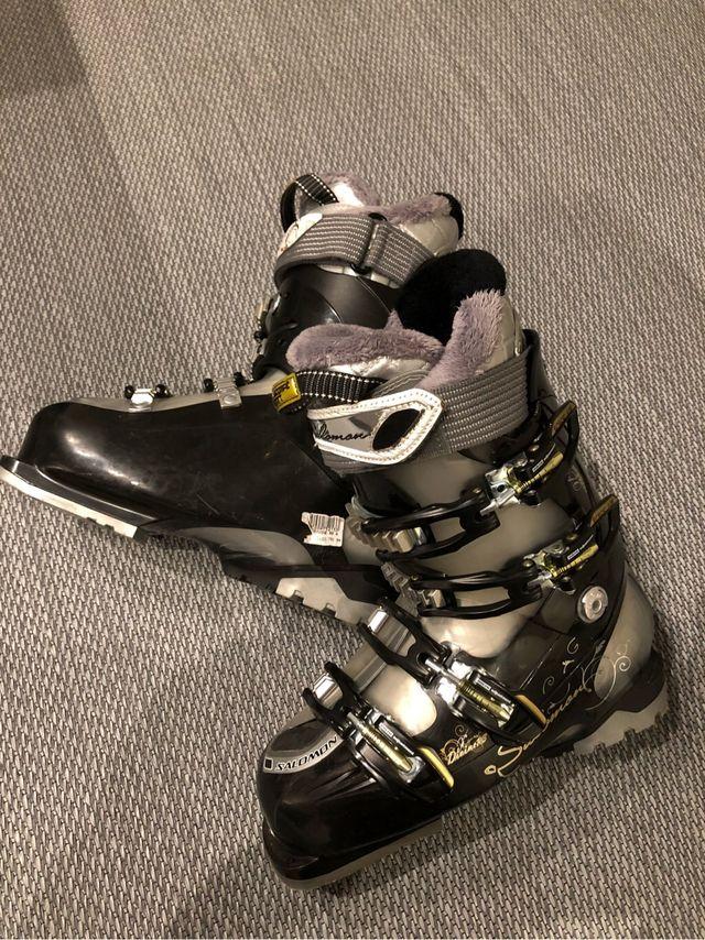Botas Esqui Salomon talla 24,5 - 38 Gama alta
