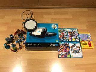 Wii U con juegos