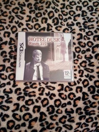 Juego Hotel Dusk Room 215 (Nintendo Ds)