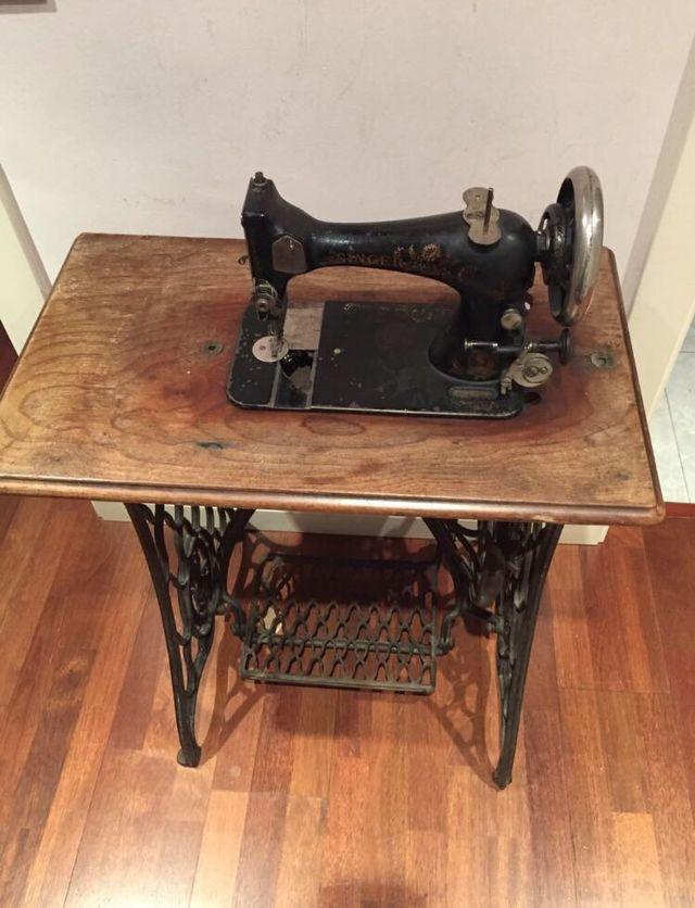 Máquina de coser vintage Singer
