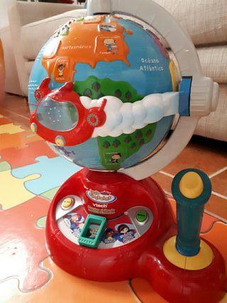 Bola del mundo interactiva Little Einstein