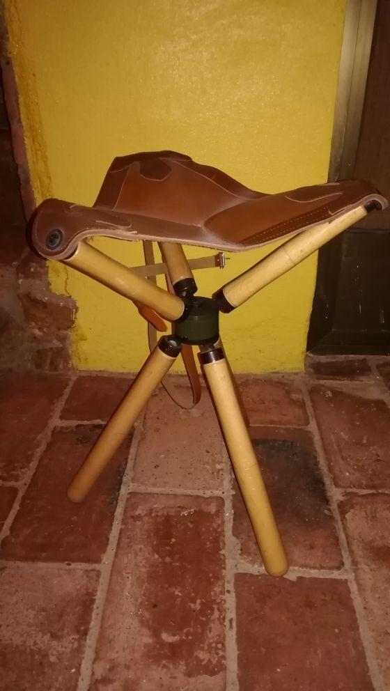 SILLA TRIPODE DE CAZA, PESCA, CAMPO