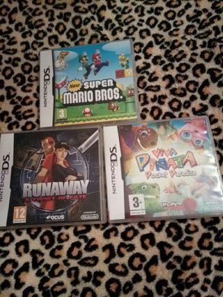 Lote de Juegos para Nintendo DS