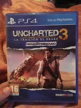Uncharted 3 La traicion de Drake Remasterizado