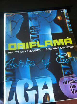 ORIFLAMA revistes En Català Anys 60-70 C