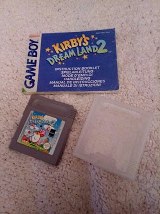 Kirby's Dream Land 2 para Nintendo GameBoy (Raro)