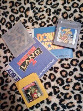Pack de Juegos Donkey Kong (Nintendo GameBoy)