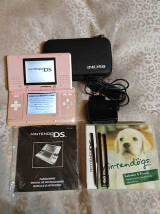 REBAJAS!! Nintendo Ds Rosa PACK