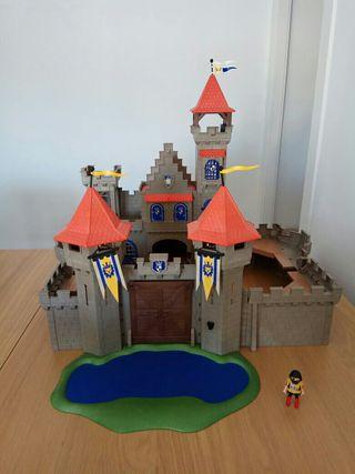 Castillo medieval Playmobil y Caballeros