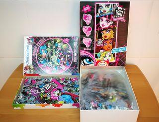 2 puzzles Monster XL + REGALO