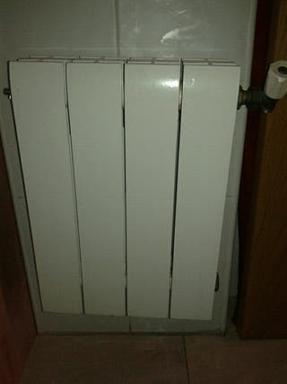 Radiador calefacción agua