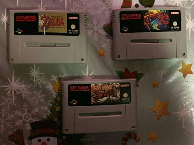 3 Mejores Juegos De Super Nintendo Pal Esp De Segunda Mano En Malaga