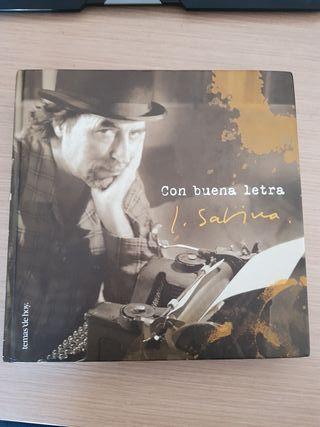 Joaquín Sabina. Con buena letra. libro