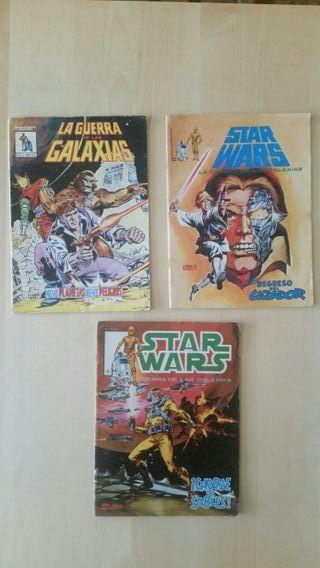 Star Wars cómics 1981 & 1983 (Mundi Comics)
