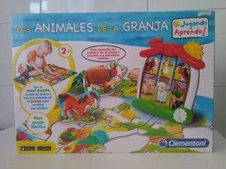 Maxi puzzle Los Animales de la Granja