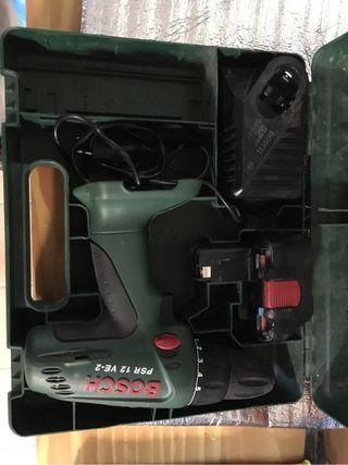 Taladro Bosch 12V de bateria