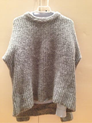 Grey warm sweater