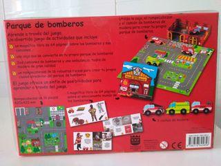 Parque de bomberos, juguete original a estrenar.