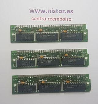 RAM MB81C4256-10P 30 pin SIMM Memory 100ns Siemens