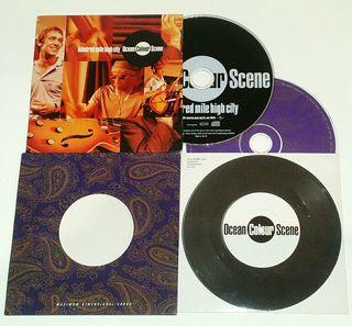 CD singles OCEAN COLOUR SCENE