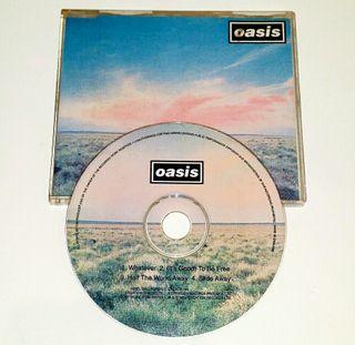 "CD single OASIS ""Whatever"""
