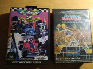 Pack de juegos de Mega Drive