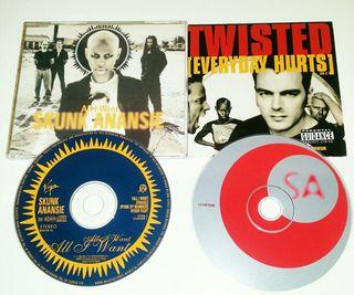 CD singles SKUNK ANANSIE
