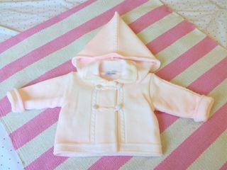 Conjunto bebé niña 3 meses lana muy calentito