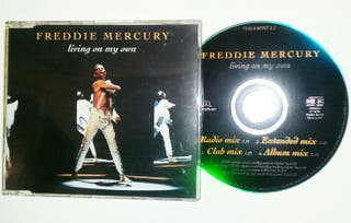 "CD single FREDDIE MERCURY ""Living on my Own"""
