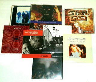 LOTE CD SINGLES