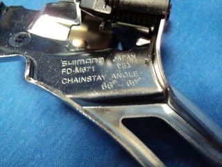 NUEVO Desviador Shimano SLX 3V Bicicleta