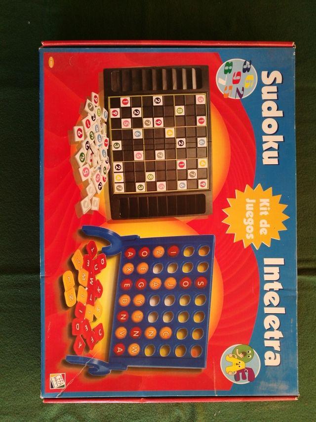 Kit De Juegos De Mesa Sudoku Inteletra De Segunda Mano Por 5 En