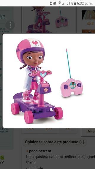 Doctora Juguetes con patin radio-control