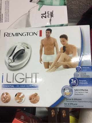 Foto depiladora remington