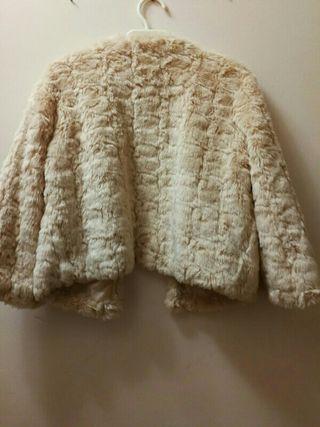 chaqueta de pelo