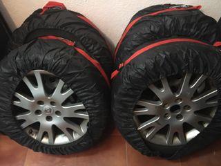 """4x Llantas 17"""" con neumático invierno"""