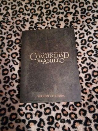 """Dvds Versión Extendida """"La Comunidad Del Anillo"""""""