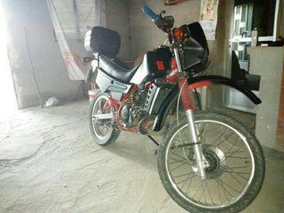 Moto de 125 gillera rx del 1986