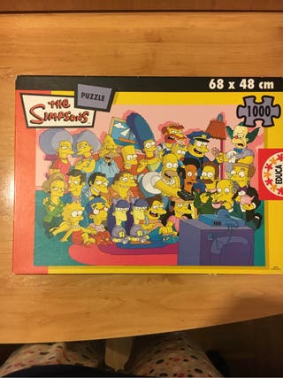 Puzzle Simpsons 1000 pzs