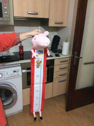 Medidor Altura de Peppa Pig